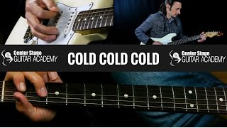 Cold Cold Cold Guitar Lesson - Cage the Elephant
