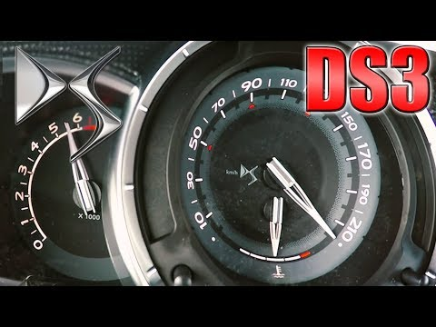 2017 Citroën DS3 Sport Chic (0-225km/h)  Acceleration and Top speed TEST ✔