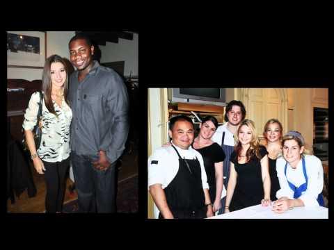 Top Chef Jennifer Carroll and Cole Hamels