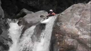 Extreme Kayaking on Rivers Strona, Anza and Vanoi, Italy 2011 Seaso...