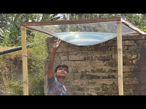 ✳️Experiment With Parabolic Lens (The Sun Power)