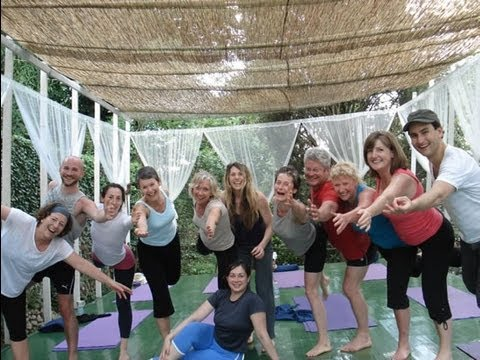 Italy Yoga Retreat Reviews 2012 - Katrina Love Senn