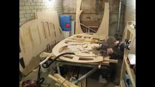8 Day. Teardrop Trailer. Cutting The Door