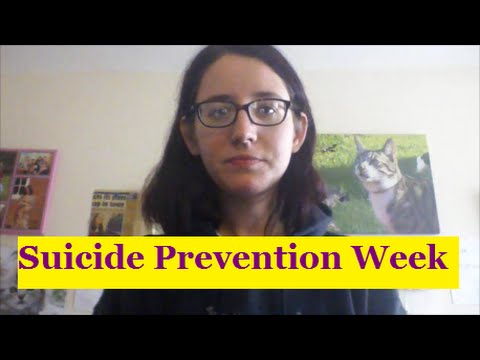 Suicide Prevention Week 2015 - Personal experiences