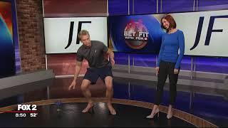 High Heel Relief on Fox 2 WJBK