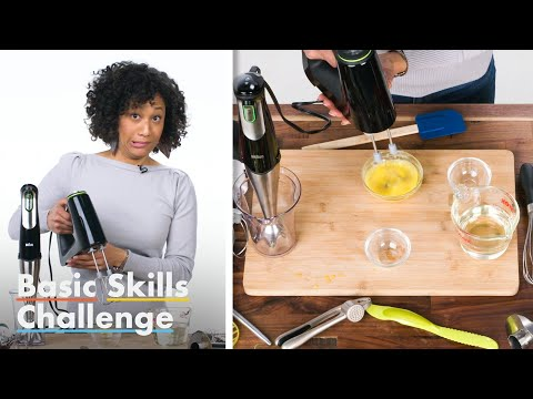 50 People Try To Make Mayonnaise | Basic Skills Challenge | Epicurious