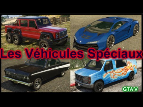 Gta v les v hicules sp ciaux 1 youtube for Voiture garage gta 5
