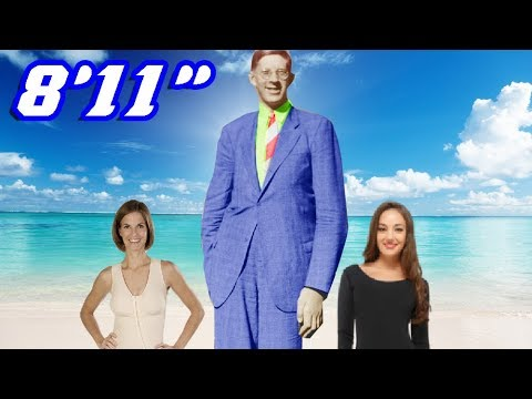 World's Tallest Man!  9 Foot Tall! What was his Secret?