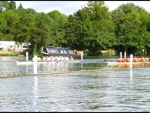 West End Rowing Club in Henley semi-finals of Thames Challenge Cup (against Potomac BC, USA)