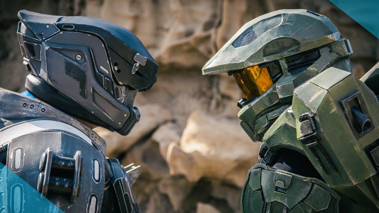Halo vs Destiny : Live Action Battle