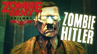 Zombie Army Trilogy Gameplay Part 1 - ZOMBIE HITLER STRIKES BACK! (Nazi Zombie Army)