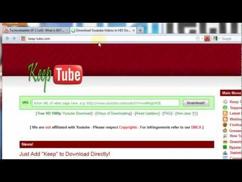 How-To Download Videos & Music from YouTube, Facebook & other sites