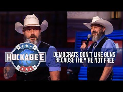 The REAL Reason Democrats HATE Guns | Comedian John Wesley Austin | Huckabee