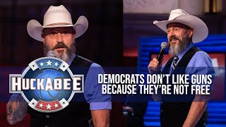 The REAL Reason Democrats HATE Guns | Comedian John Wesley Austin | Huckabee