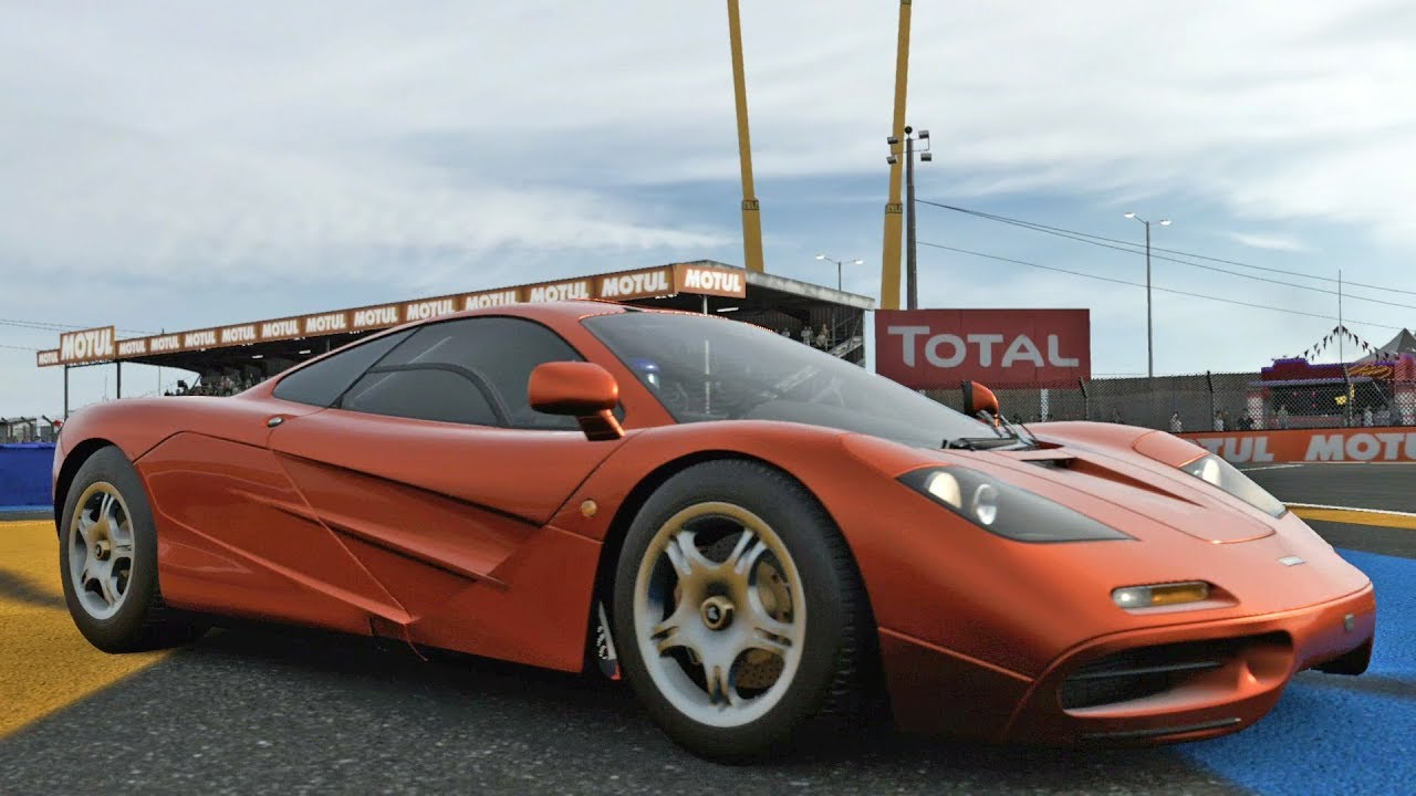forza motorsport 7 - mclaren f1 1993 - test drive gameplay (hd