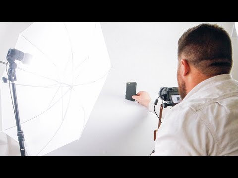 DIY product photography setup + Lightroom editing Tutorial for clean white background