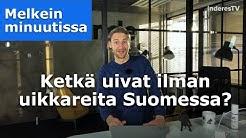 Ketkä uivat Suomessa ilman uikkareita?