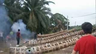 Raya 2012 bakar meriam - bagan lalang, hutan melintang part II