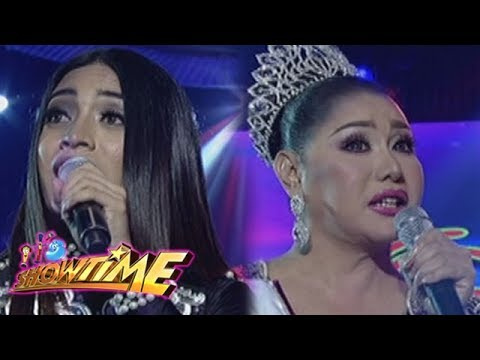 It's Showtime Miss Q and A: Jovelle Escandor and Matrica Matmat Centino in Beklamation!