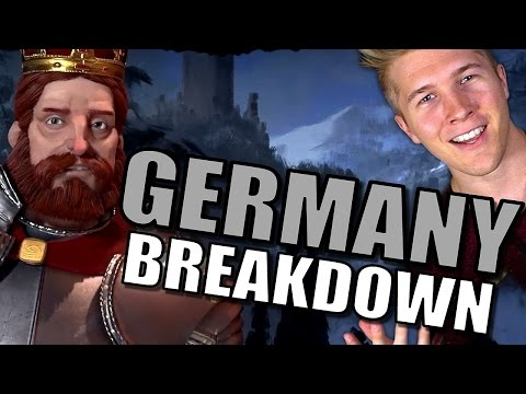 Civilization 6: Gameplay - Germany [Leader Tips & Strategy Breakdown]