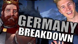 Civilization 6: Gameplay - Germany [First Look Leader Trailer Breakdown]