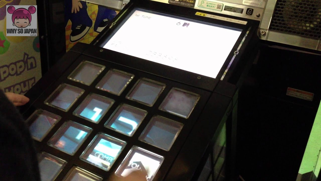 Jubeat - the arcade game we love - Why so Japan