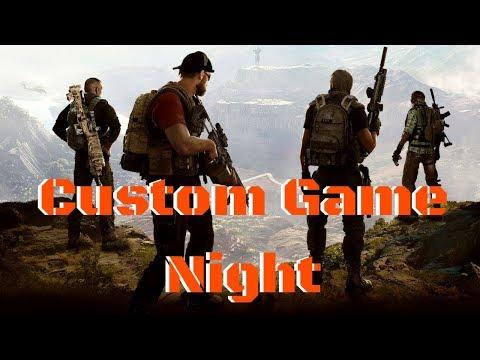 Custom Game Night #TEAMLIVE (Tom Clancy's Ghost Recon Wildlands)
