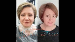 Тонирование волос после окрашивания маской Newtone