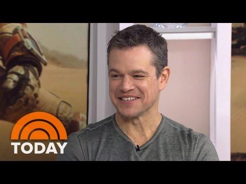 Matt Damon, Ridley Scott Talk 'The Martian' | TODAY Mp3
