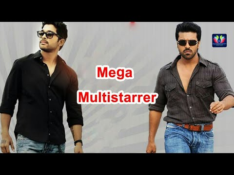 Allu Arjun Ram Charan Telugu Song Remix Video