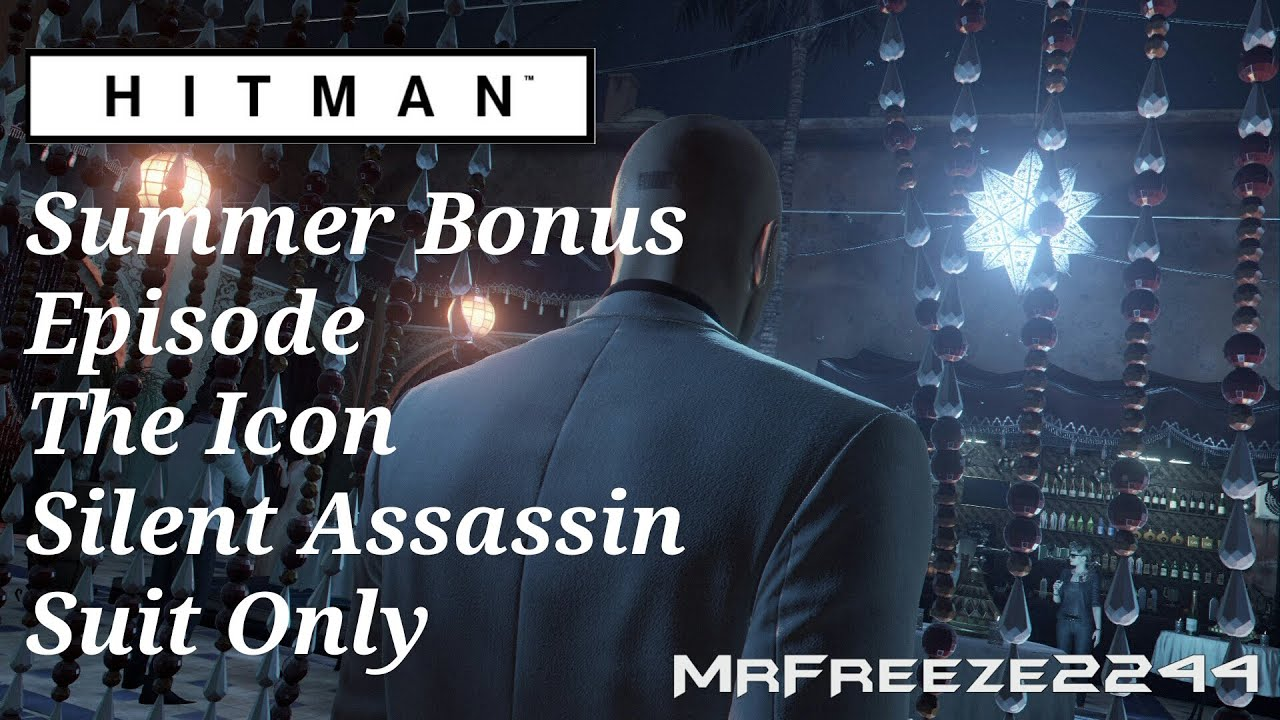 Hitman The Icon Silent Assassin Suit Only Summer Bonus
