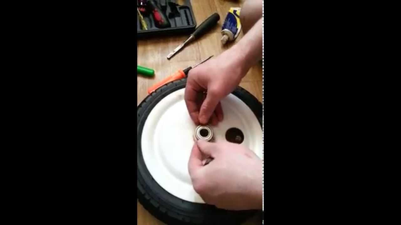 Замена тормоза на детской коляске tutis zippy/adamex/verdi/sojan .