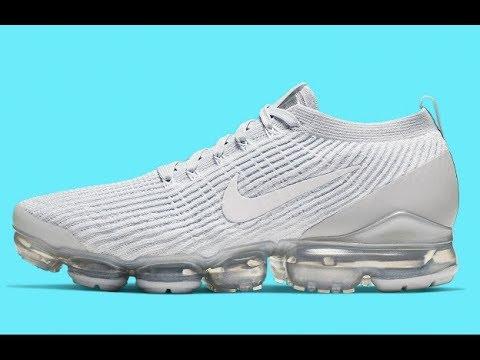 Nike Air Vapormax Flyknit 3 *Pure Platinum* (White White Pure Platinum)