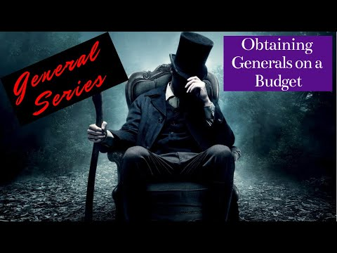 General Series: Obtaining Generals on a Budget