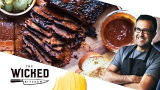 The OG Vegan Brisket - TEXAS BBQ-STYLE SEITAN!   The Wicked Kitchen