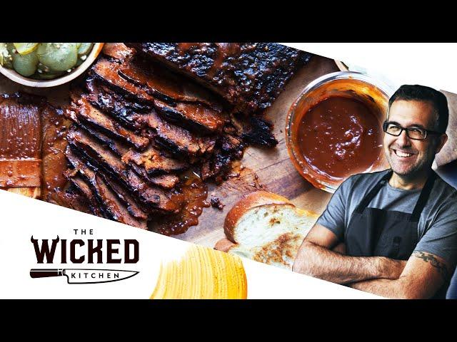 The OG Vegan Brisket - TEXAS BBQ-STYLE SEITAN! 🔥🔥🔥 | The Wicked Kitchen