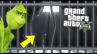 MR GRINCH ESCAPES FROM JAIL... IT'S PAYBACK TIME!! (GTA 5 Mods Gameplay)