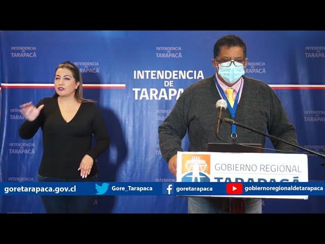 Punto de prensa 06 de septiembre de 2020 - Gobierno Regional de Tarapacá