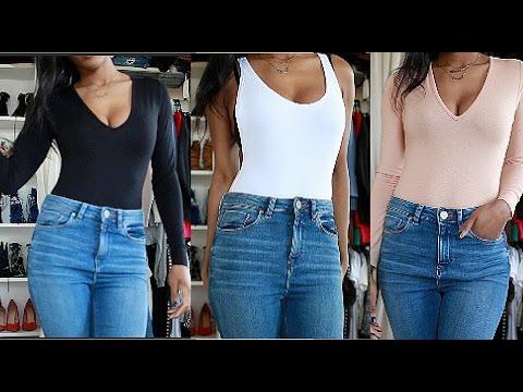 Asos Basics Bodysuit Haul