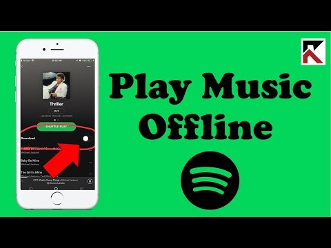 How To Play Music Offline Spotify