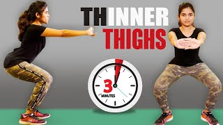 3 ways to slim your thighs | Thigh Easy Workout Tips |Say Swag