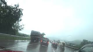 Drive on Pune - Mumbai express highway a place to be during monsoon