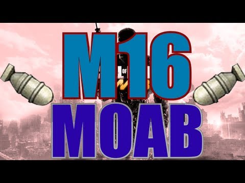 MW3 | MOAB with Every Gun - M16 MOAB (Gameplay/Commentary)