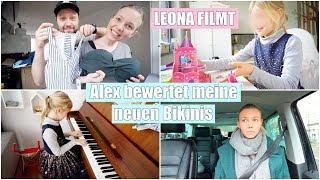 Leonas erster Vlog! | Alex bewertet meine Bikinis 👙 | Klavier spielen | Isabeau