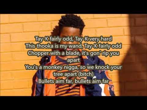 No Jumper feat Tay K & Blocboy JB - Hard (Lyric Video)