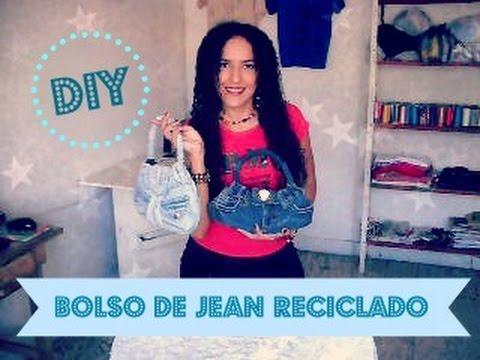 Como hacer un Bolso de Jean Reciclado , Tutorial de SANDRA PADILLA , YouTube