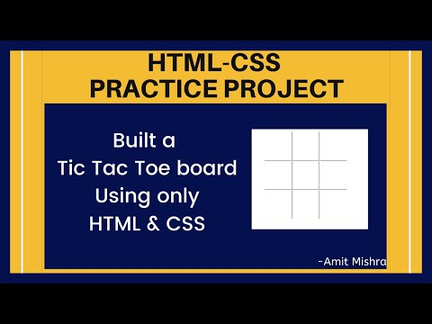 HTML5 & CSS3 Project For Beginners || HTML CSS Practice Project 2020 #1