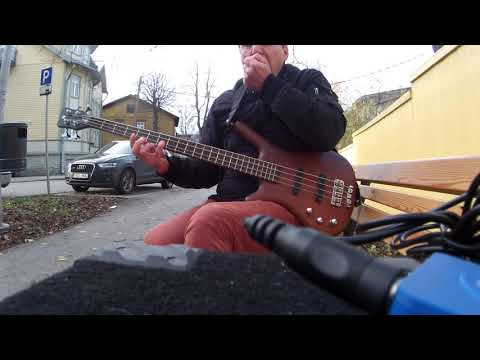 Iron maiden - aces high bass cover