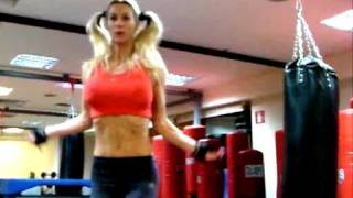 Sexy Abs Warm up before Fitness workout