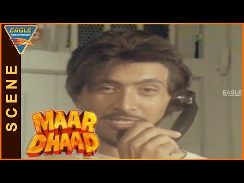 Maar Dhaad Hindi Movie ||  Shiva Rindani Warns Sadashiv || Hemant Birje, Mandakini, Huma Khan